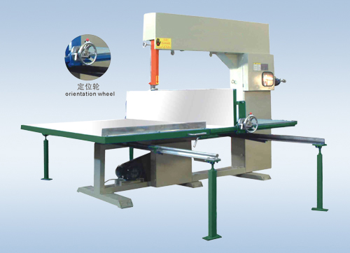 XLQ-4L Vertical Foam Cutting Machine