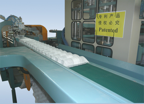 LR-PS-LINE-95P-HX2/HF2 Fully automatic pocket spring production line